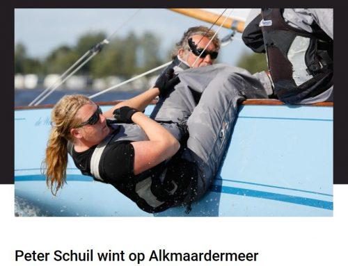 Peter Schuil wint op Alkmaardermeer  | Artikel van Sneekernieuwsblad