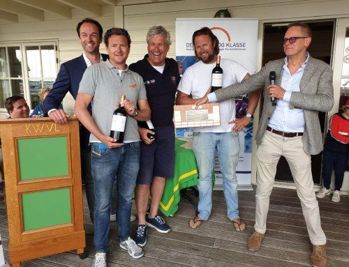 36 Regenbogen op Loosdrecht; Team 87 grijpt winst op ABN AMRO MeesPierson Klassenevenement