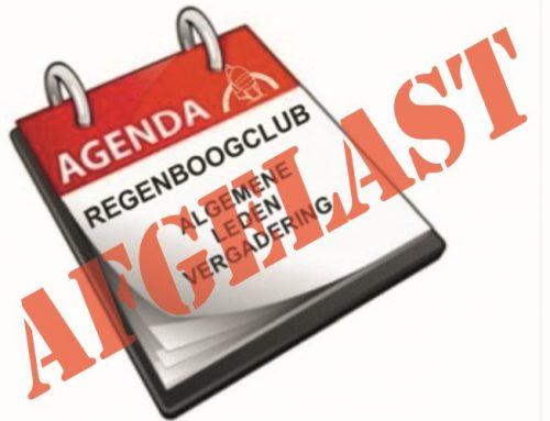 Algemene Ledenvergadering 2 april uitgesteld